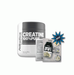 Creatina Pro Series 100% Pure (300g) + Best Whey Sachê